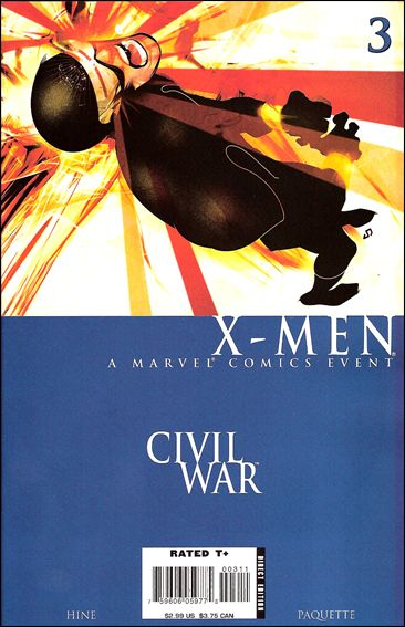 Civil War: X-Men 3-A by Marvel