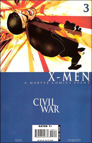 Civil War: X-Men 3-A by Marvel