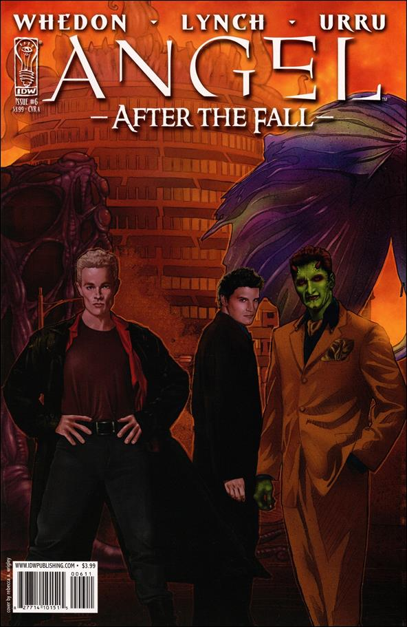 Angel: After the Fall 6-A by IDW