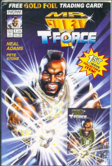 Mr. T and the T-Force 1-B by Now Comics
