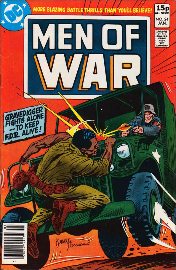 Men of War (1977) 24-B by DC