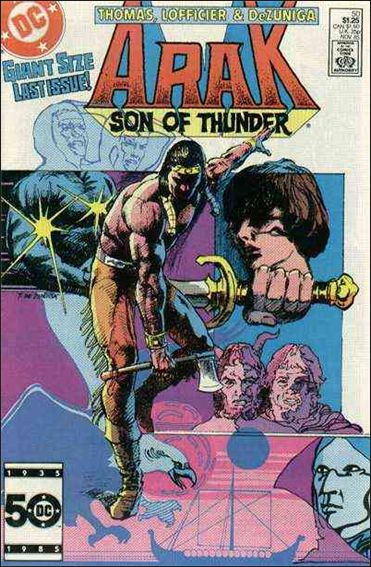 Arak Son of Thunder 50-A by DC