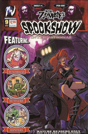Rob Zombie's Spookshow International 9-A by MVCreations