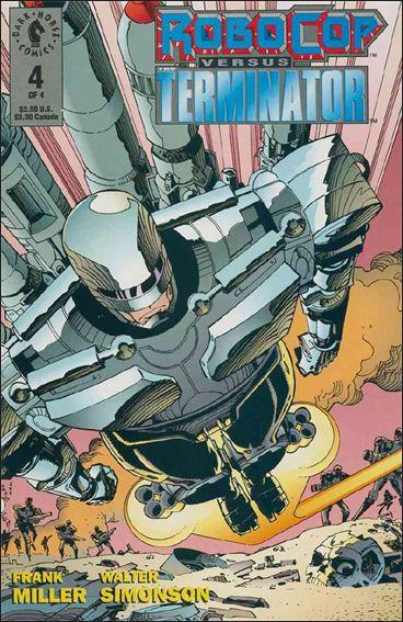 Robocop Versus the Terminator 4-A by Dark Horse