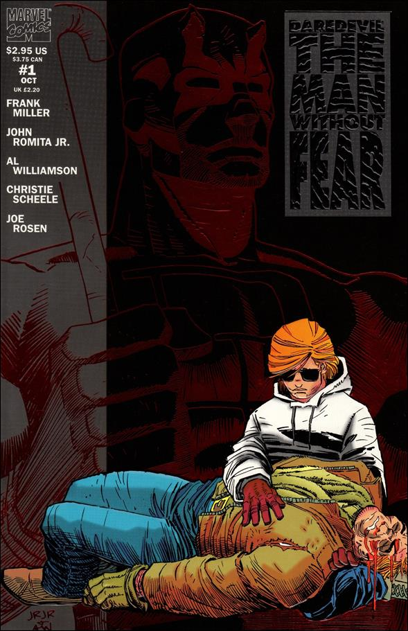Daredevil The Man Without Fear 1-A by Marvel