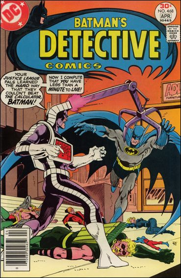 Detective Comics (1937) 468-A by DC