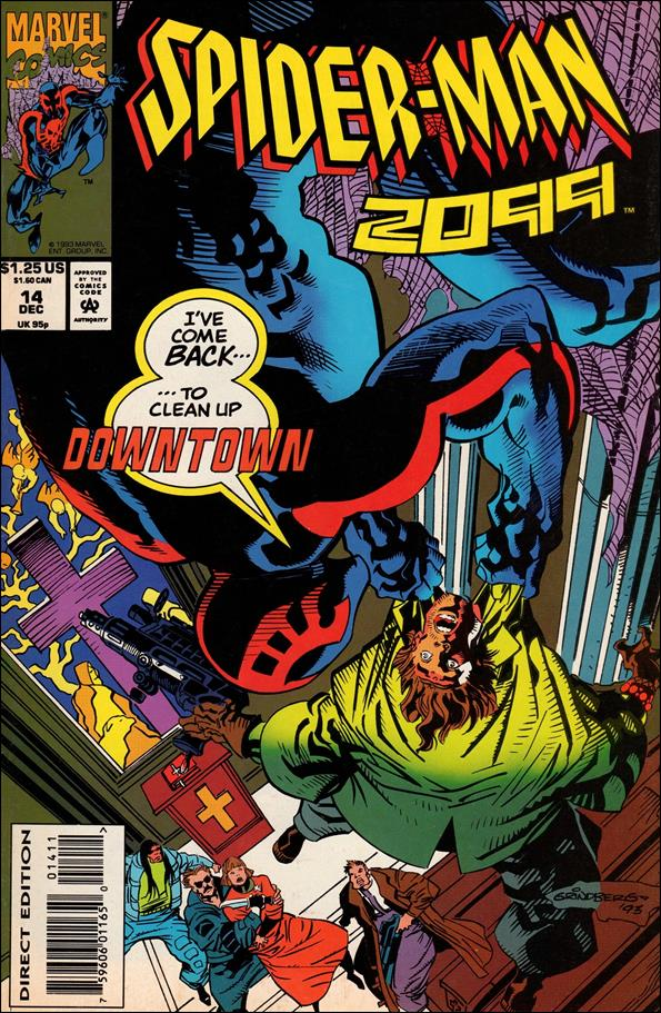 Spider-Man 2099 (1992) 14-A by Marvel