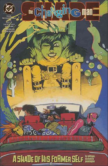 Shade, the Changing Man (1990) 21-A by Vertigo