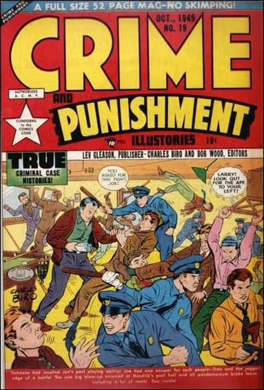 Crime and Punishment 19-A by Lev Gleason Productions