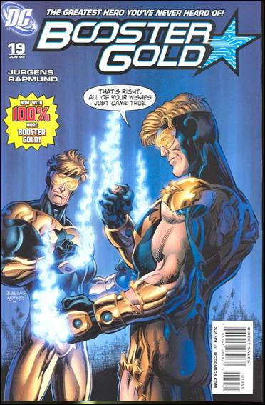 Booster Gold (2007) 19-A by DC