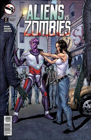Aliens vs Zombies 2-D