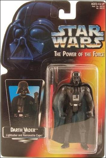 "Star Wars: The Power of the Force 2 3 3/4"" Basic Action Figures Darth Vader (Short Saber/Long Tray) by Kenner"