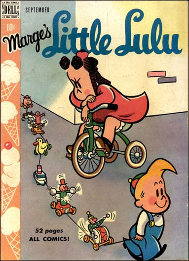 Marge's Little Lulu 15-A by Dell
