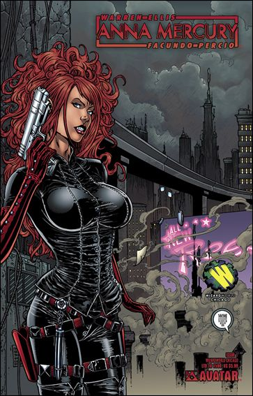 Anna Mercury 1-G by Avatar Press