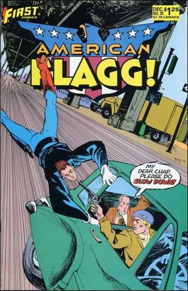American Flagg! (1983) 35-A by First