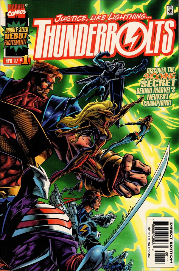 Thunderbolts (1997) 1-A by Marvel