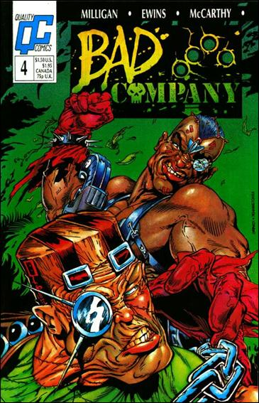 Bad Company 4-A by Quality Comics
