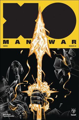 X-O Manowar (2017) 24-C