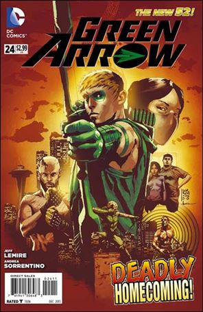 Green Arrow (2011) 24-A