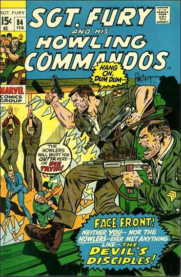 Sgt. Fury and His Howling Commandos 84-A by Marvel