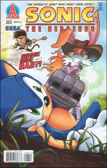 Sonic the Hedgehog (1993) 203-A by Archie