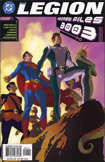 Legion Secret Files 3003 1-A by DC