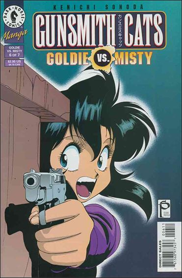 Gunsmith Cats: Goldie vs Misty 6-A by Dark Horse