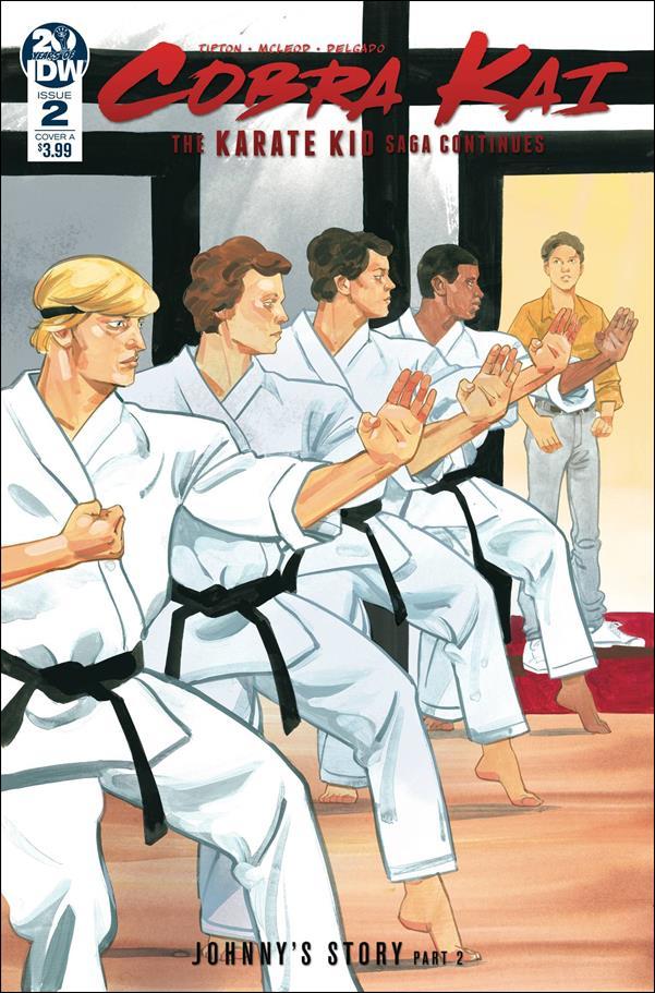 Cobra Kai: The Karate Kid Saga Continues 2-A by IDW