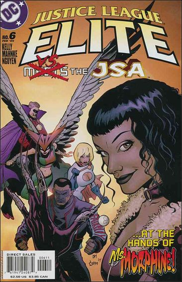 Justice League Elite 6-A by DC