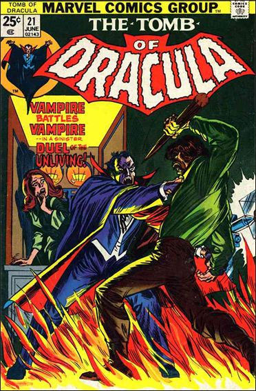 Tomb of Dracula (1972) 21-A by Marvel