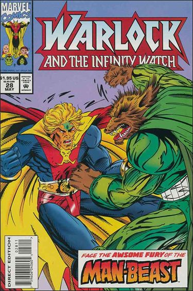 Warlock and the Infinity Watch 28-A by Marvel