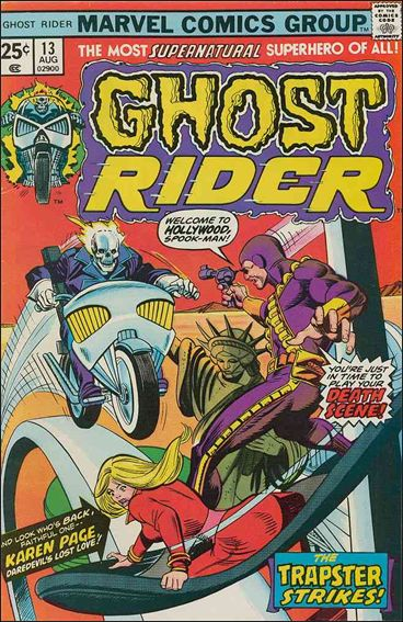 Ghost Rider (1973) 13-A by Marvel