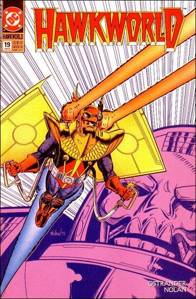 Hawkworld (1990) 19-A by DC