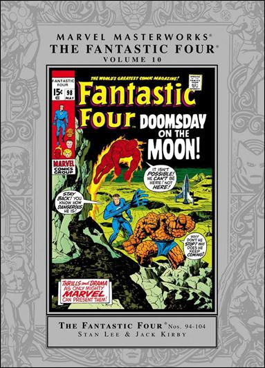 Marvel Masterworks: The Fantastic Four 10-A by Marvel