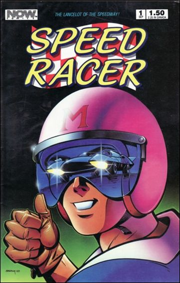 Speed Racer (1987) 1-A by Now Comics
