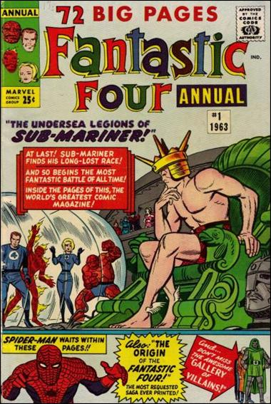 Fantastic Four Annual (1963) 1-A by Marvel
