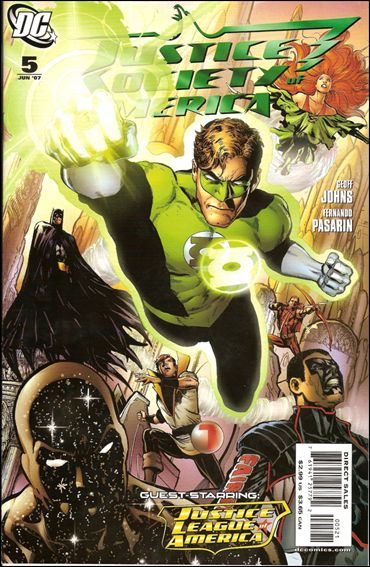 Justice Society of America (2007) 5-B by DC