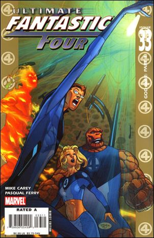 Ultimate Fantastic Four 33-A by Marvel