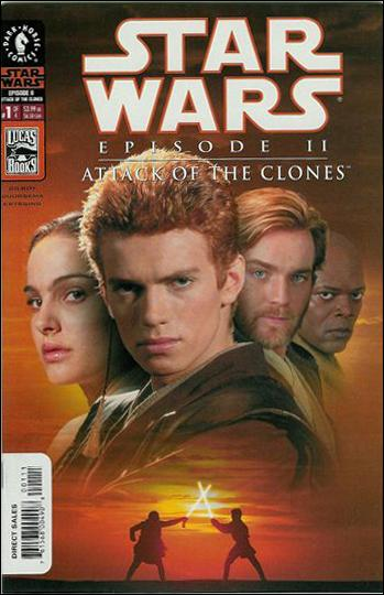 Star Wars: Episode II - Attack of the Clones 1-B by Dark Horse