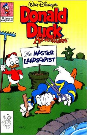 Walt Disney's Donald Duck Adventures (1990) 22-A