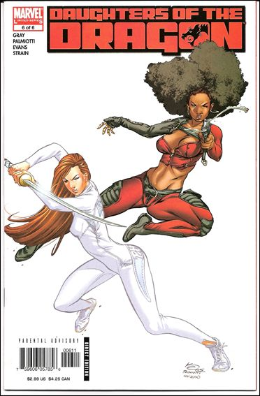 Daughters of the Dragon 6-A by Marvel