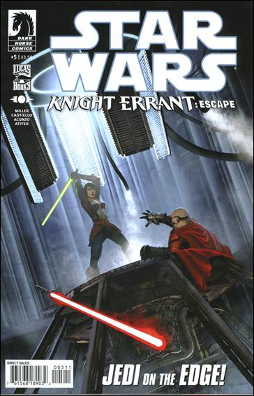 Star Wars: Knight Errant - Escape 5-A by Dark Horse