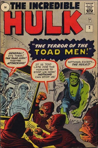 Incredible Hulk (1962) 2-B by Marvel