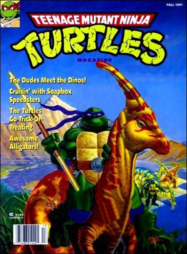 Teenage Mutant Ninja Turtles Magazine 5-A by Welsh Publishing Group