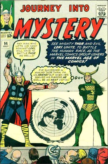 Journey into Mystery (1952) 94-A by Marvel