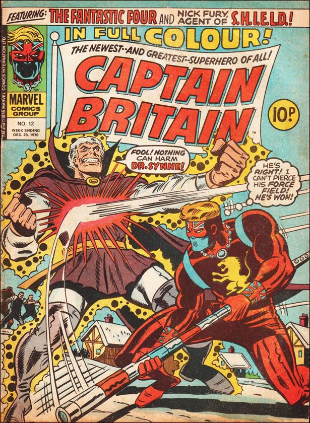 Captain Britain (UK) (1976) 12-A by Marvel UK