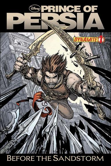 Prince of Persia: Before the Sandstorm 1-A by Dynamite Entertainment
