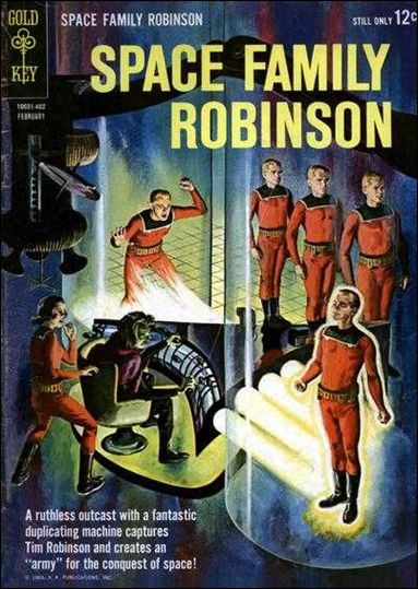 Space Family Robinson 6-A by Gold Key