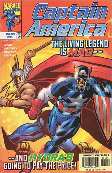 Captain America (1998) 5-A by Marvel