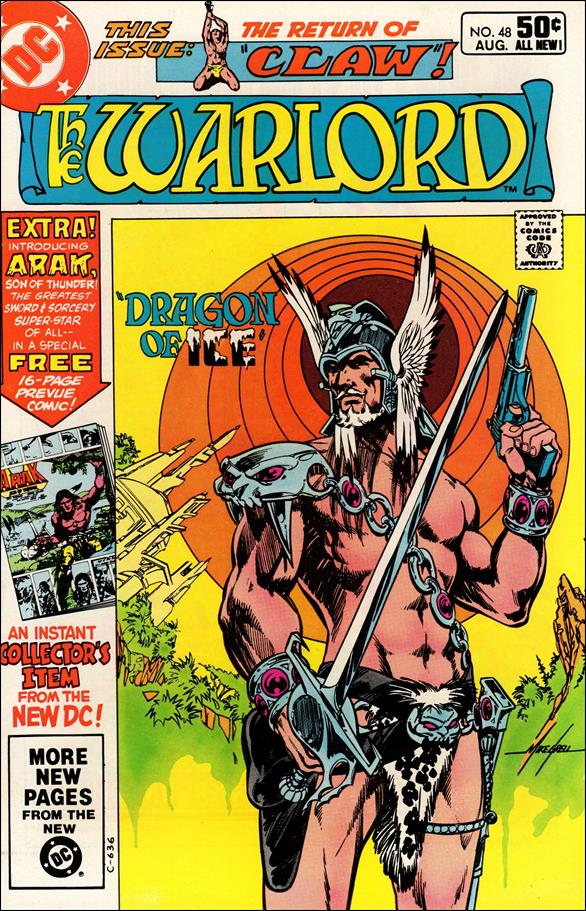 Warlord (1976) 48-A by DC